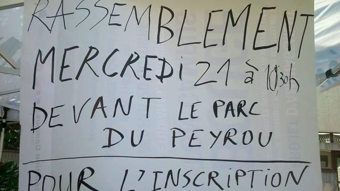 Procès contre l'Université Paul Valéry – rassemblement de soutien aux sans-facs mercredi 21 octobre