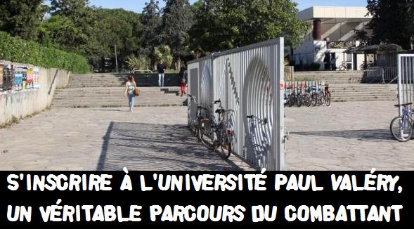 Les inscriptions à l'Université Paul Valéry – Montpellier sont ouvertes
