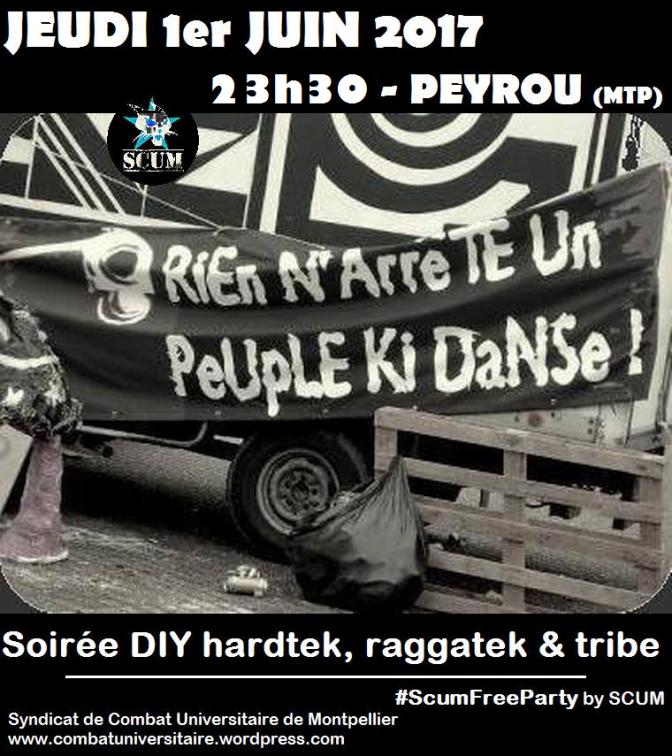 Peyrou party jeudi 1er juin !
