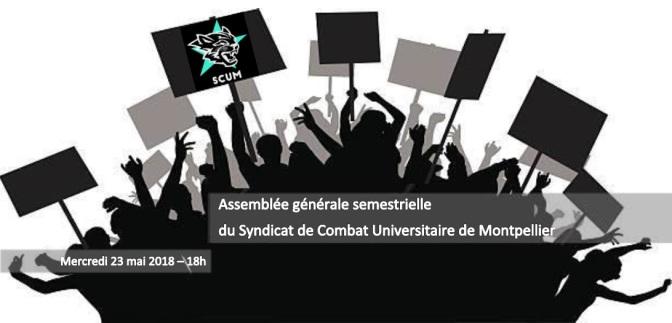 Mercredi 23 mai, le SCUM a tenu son Assemblée Générale