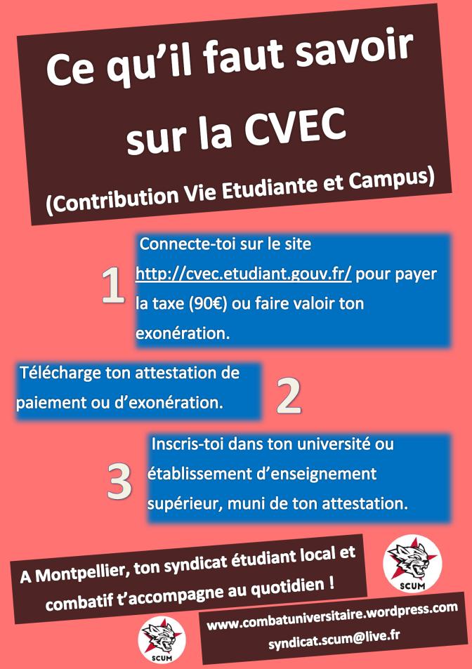 Ce qu'il faut savoir sur la Contribution Vie Étudiante et Campus (CVEC)