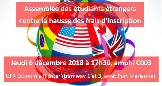 A Montpellier, la mobilisation contre la hausse des frais d'inscription continue